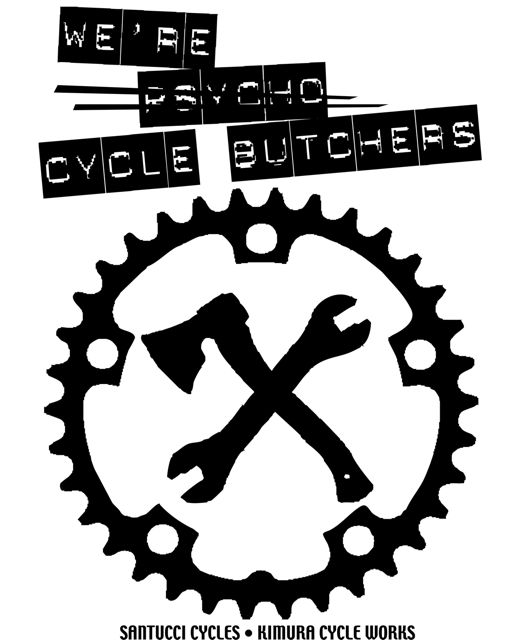 cycle butchers t shirt M