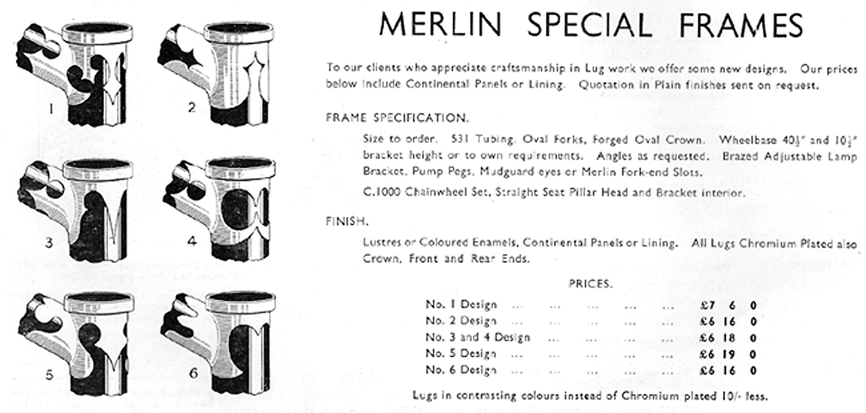 lug merlin catalogue