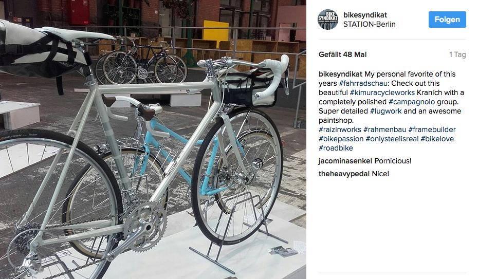 Kranich berliner fahrradschau